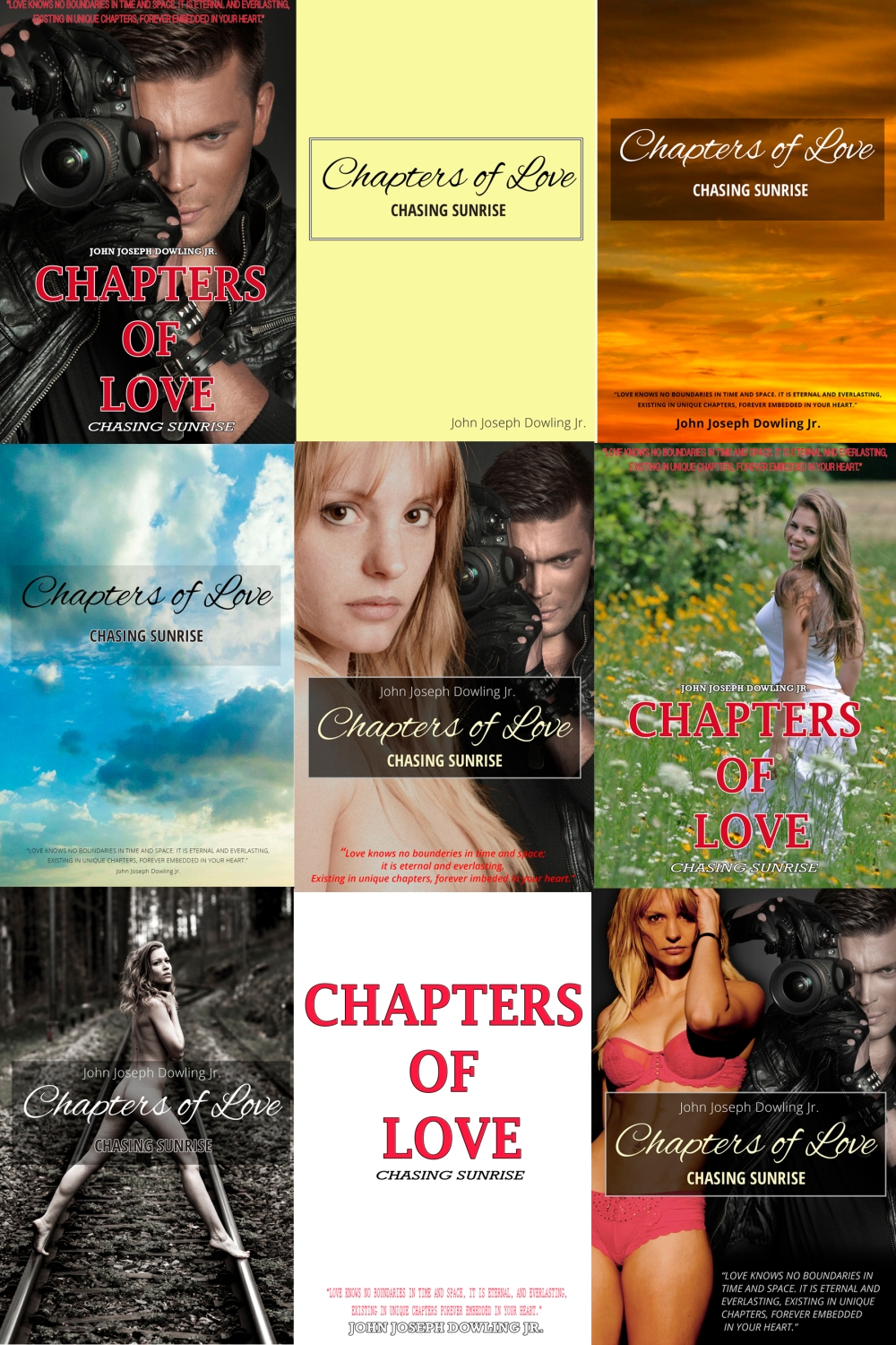 Chapters Of Love Cover Montage