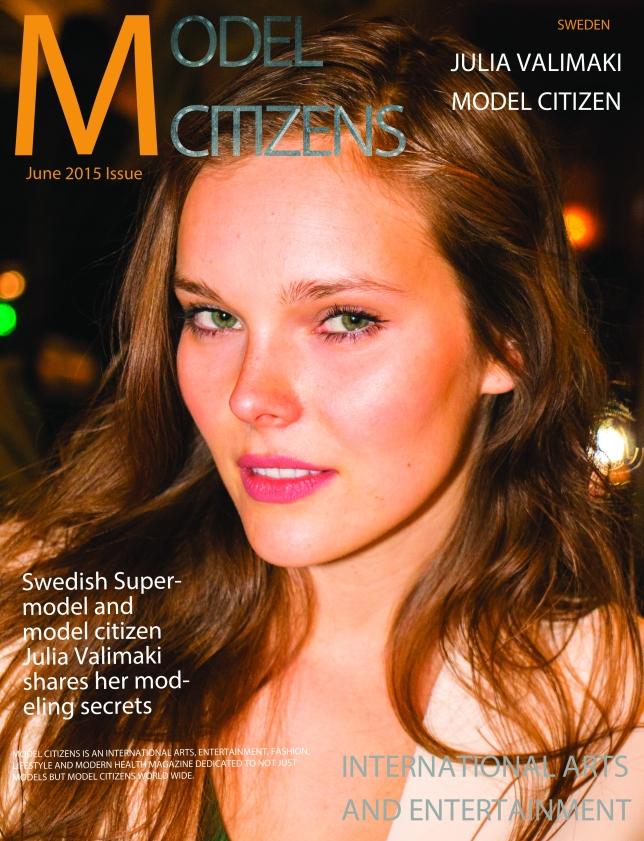 Front Cover Model Citizens Sweden JUNE