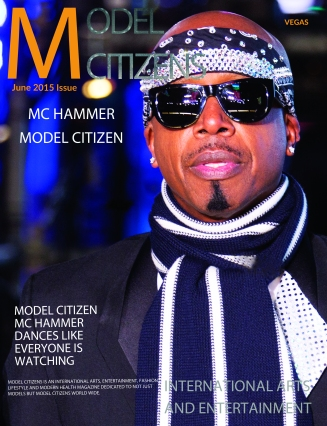 Front Cover VEGAS Model Citizens JUNE