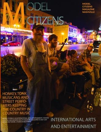 Model Citizens NASHVILLE Front Cover June
