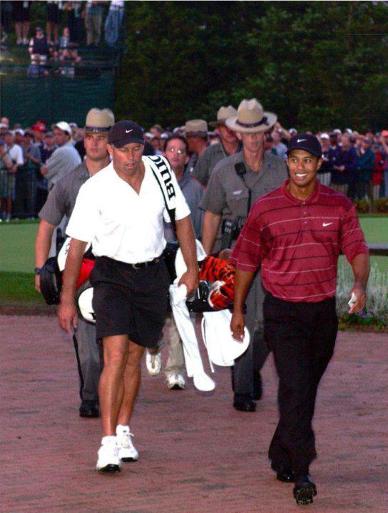 Tiger Woods Victory Weepwa Walk